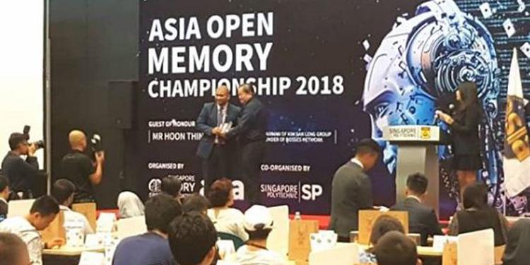 Tim Olimpiade Memory Indonesia Berlaga di Asia Memory Championship 2018