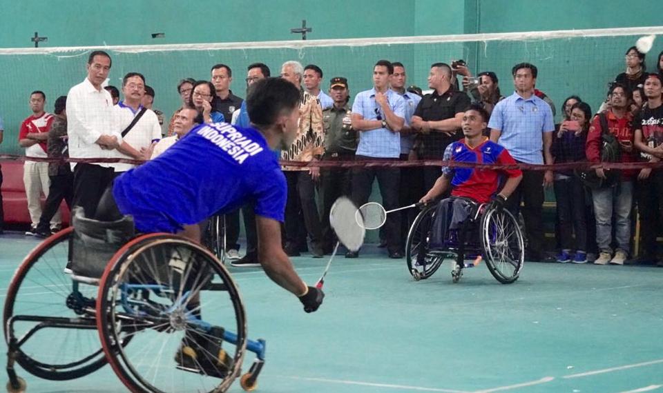 Presiden Jokowi Harap Atlet Asian Para Games  Capai Target 16 Emas