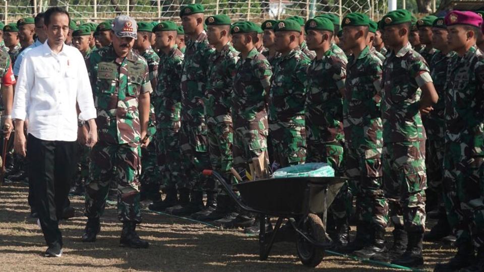 "Presiden Jokowi Hadiri Apel Siaga ""NTB Bangun Kembali"""