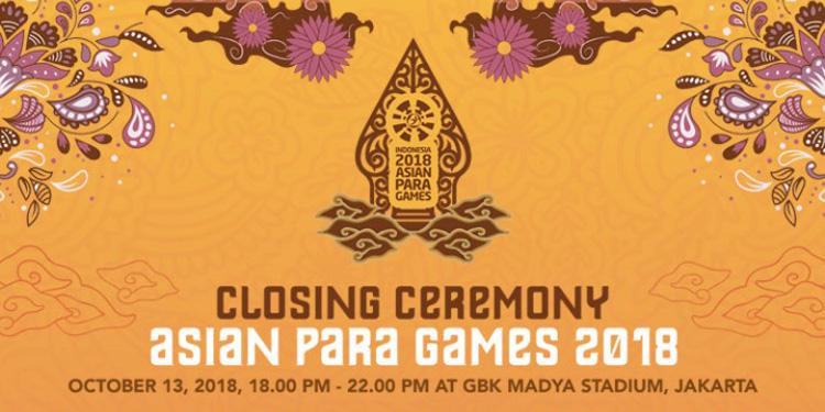 Tiket Penutupan Asian Para Games Sudah Dijual, Buruan Beli Jangan Sampai Kehabisan!
