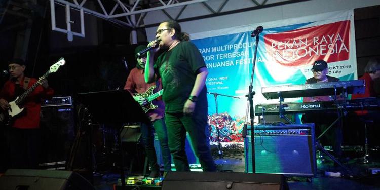 G-Pro Bersetara di Panggung IIMF dengan Lagu-lagu Klasik Rock dan Oldies