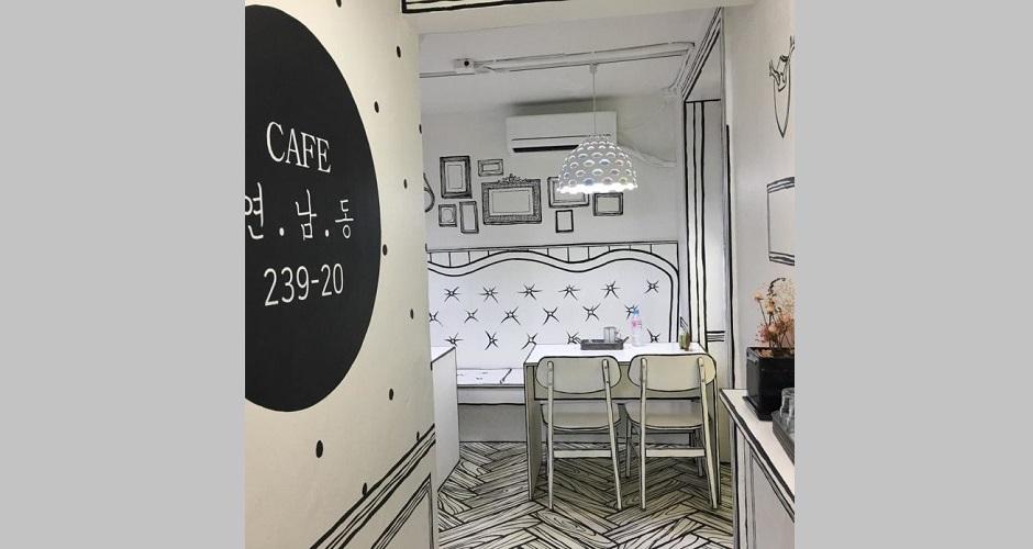 Kafe Rasa Komik @ Seoul