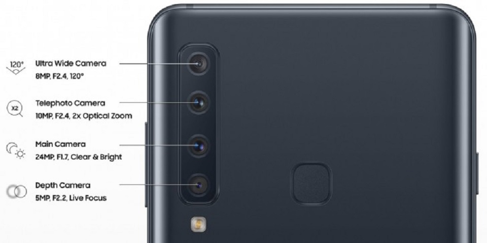 Keren, Samsung Galaxy A9 Bakal Hadir dengan 4 Kamera