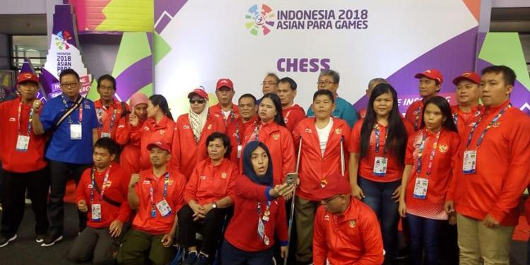 Inilah Kontingen Catur Indonesia yang Borong Enam Medali Emas