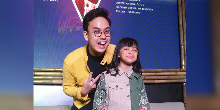 Putri Kedua Nola B3 Rilis Lagu Anak Beraliran Hiphop