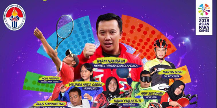 Ayoooo Berburu Official Merchandise Asian Para Games 2018 di GBK Senayan