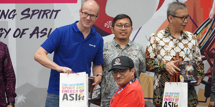 Allianz Indonesia Lindungi Atlet, Wartawan hingga Relawan  Asian Para Games 2018