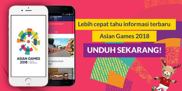 Pantau Pertandingan Asian Para Games 2018 Lewat Mobile App