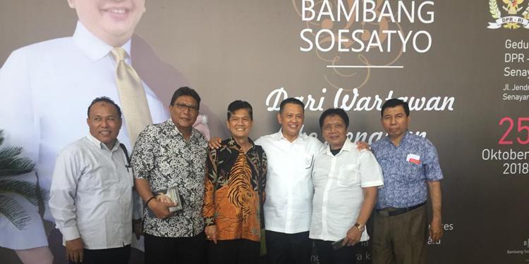 Bamsoet dari Wartawan ke Senayan