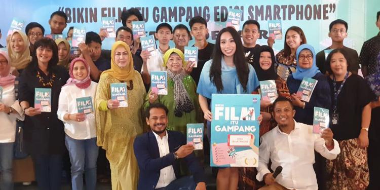Natasha Dematra Luncurkan Buku Bikin Film Itu Gampang Edisi Smartphone