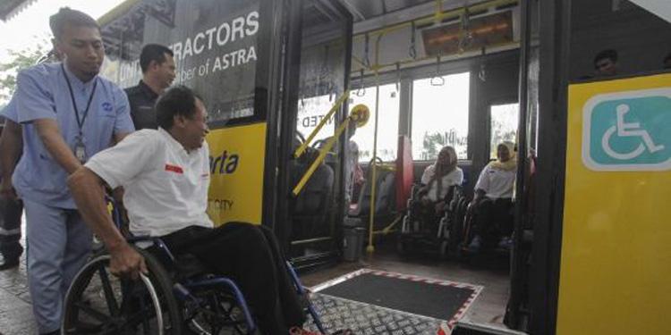 TransJakarta Siapkan 300 Bus Ramah Disabilitas
