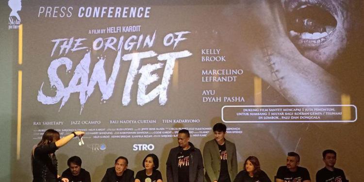 Film 'The Original of Santet' akan Sumbang Korban Bencana Sulteng Rp1 Miliar jika…