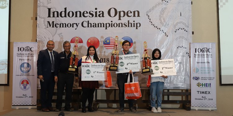 Rekor Ingatan Fantastis Berhasil Dicetak pada Indonesia Memory Championship di Bali