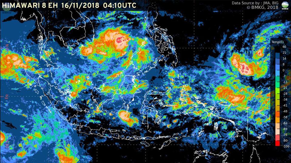 Waspadai Hujan Lebat 5 Hari ke Depan
