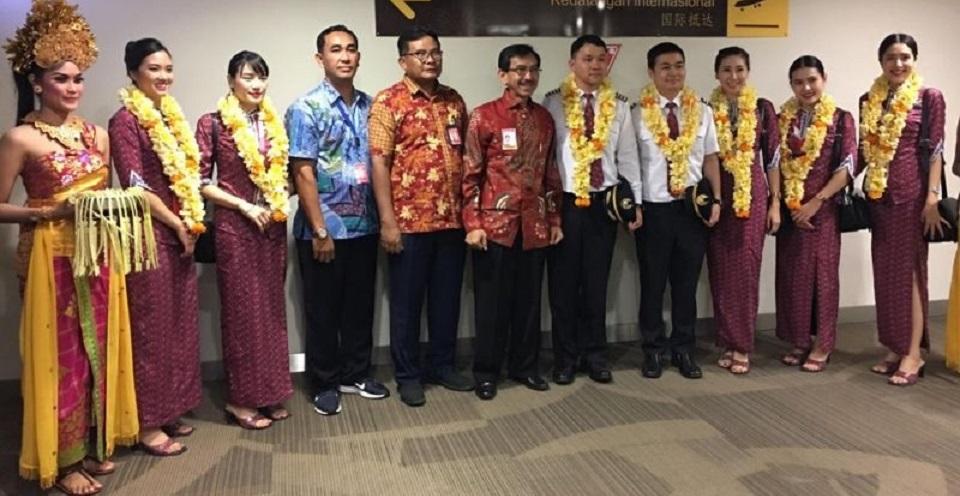 Thai Lion Air Kembali Buka Penerbangan ke Bali