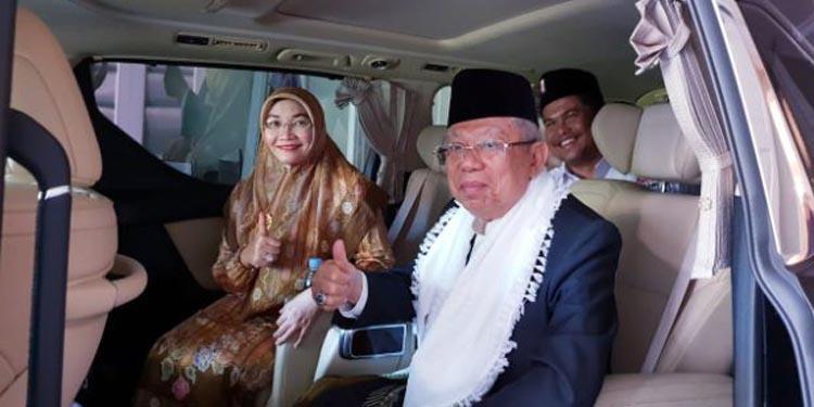 Silaturahmi dengan Ulama dan Tokoh Masyarakat, KH Ma'ruf Amin Ke Sukabumi