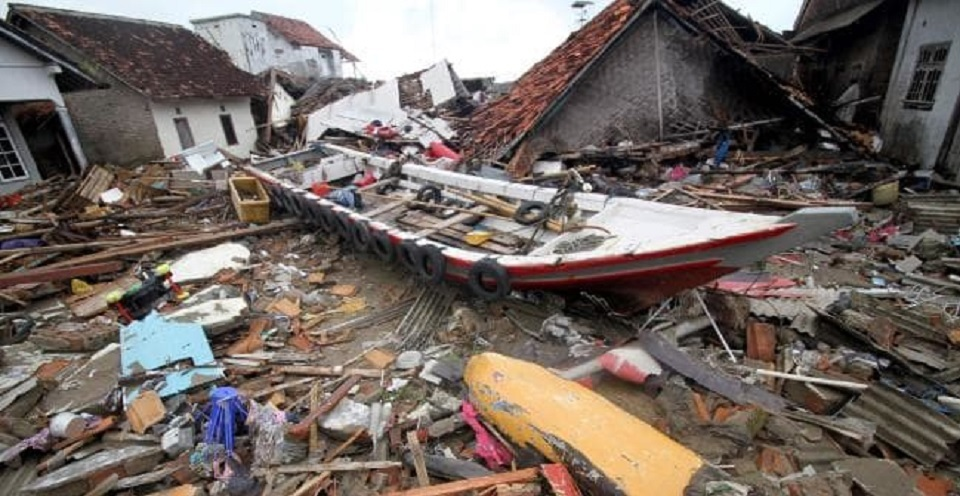 Korban tsunami: Saya berusaha lari, tetapi ombak menelan saya