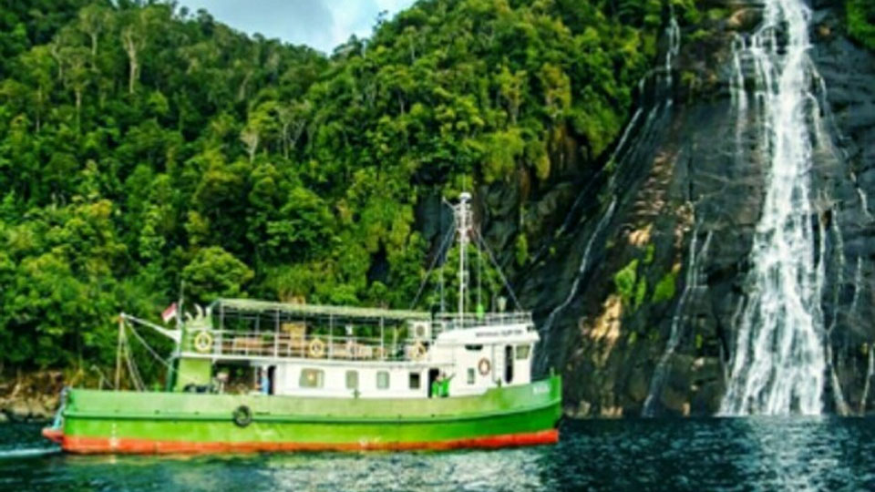 Jajaran Pulau Indah di Sibolga
