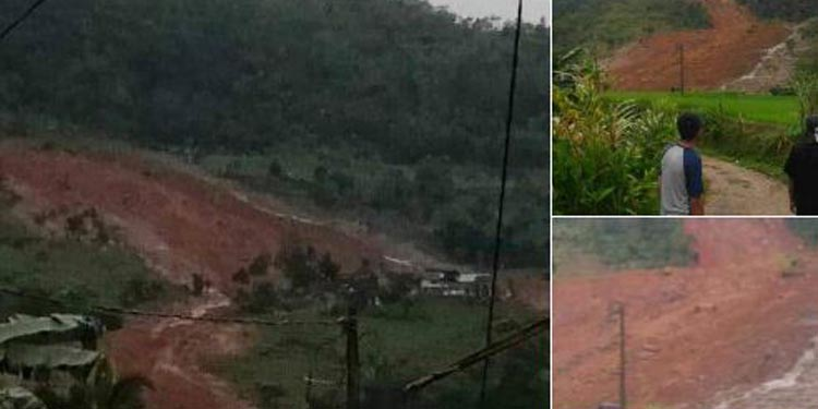 Kabar Duka! Puluhan Rumah Kampung Adat di Sukabumi Tertimbun Longsor