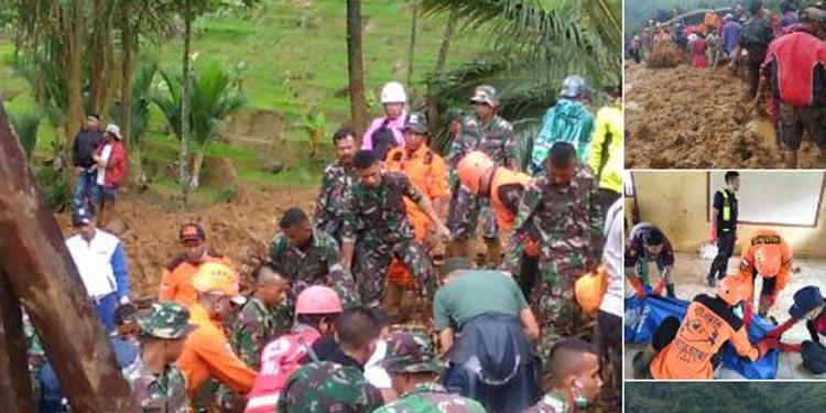 Update Longsor di Sukabumi: 107 Jiwa Tertimbun, 9 Meninggal Dunia