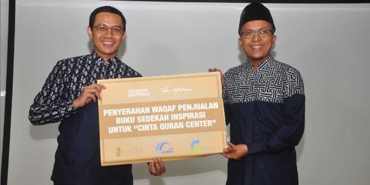 "Fahmi Hendrawan Luncurkan Buku ""Sedekah Inspirasi"""