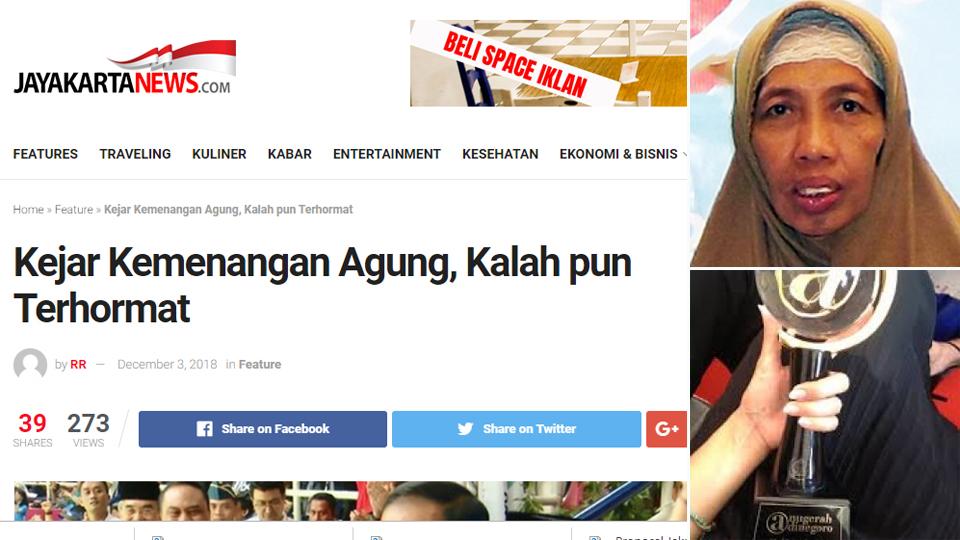 """""""Jayakarta News"""" Raih Adinegoro 2018"""