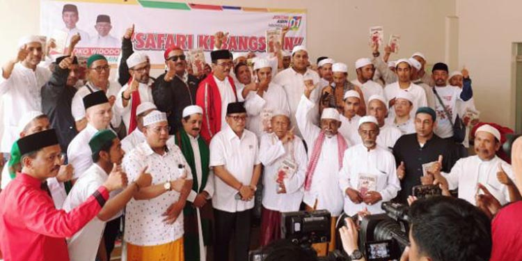 Sah, Habaib Jatim Dukung Jokowi – KH Ma'ruf `
