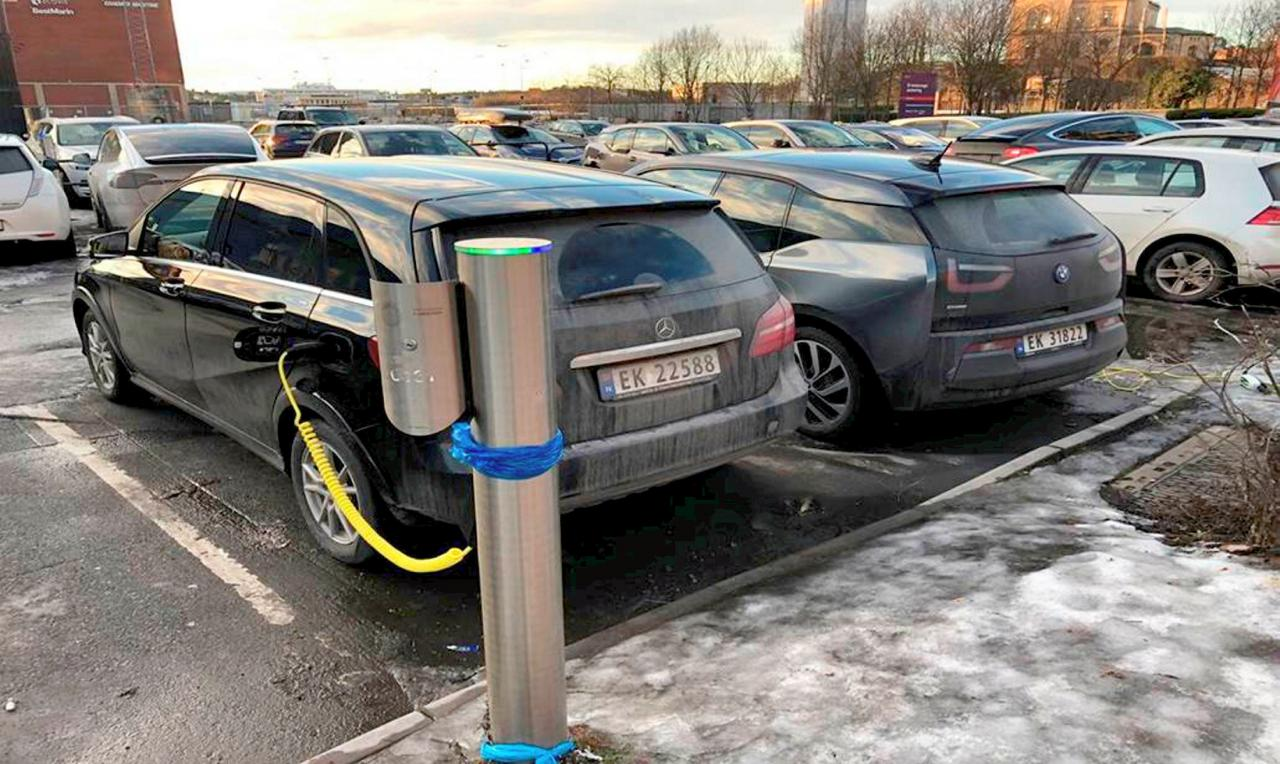 Mobil Listrik Mulai Gantikan Mobil Konvensional di Norwegia