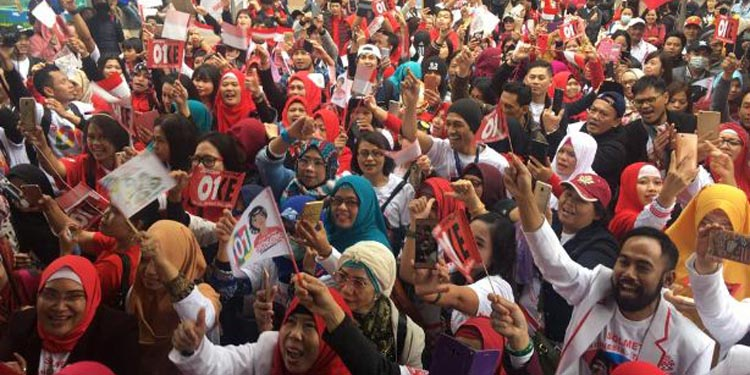 Relawan Targetkan Jokowi-KH Ma'ruf Menang 100% di Taiwan