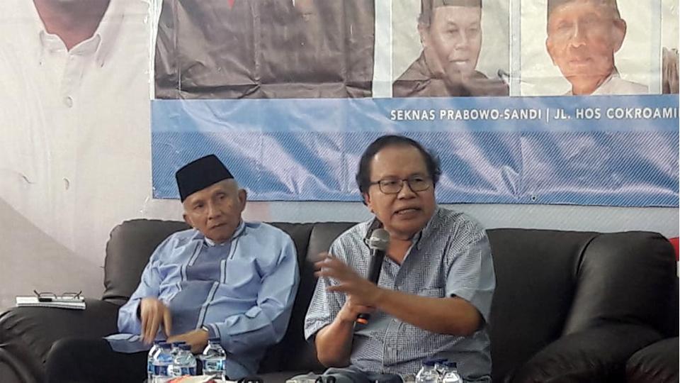 Kritik Tajam Rizal Ramli kepada Jokowi