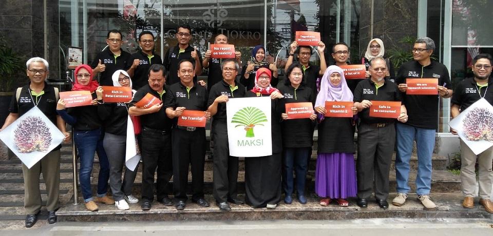 Cendekiawan Sawit Indonesia dan Maksi Somasi Buletin WHO