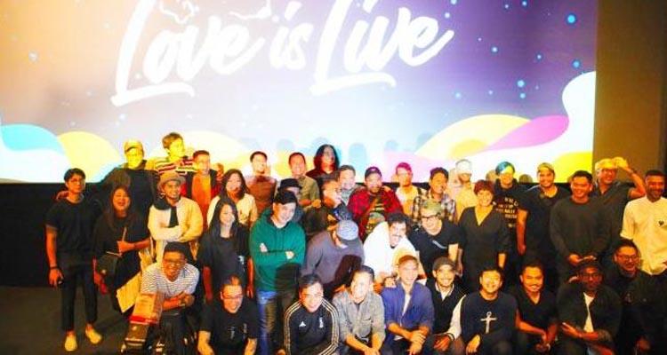 Badai dan Sammy Simorangkir Tampil Bareng Kerispatih di Konser Love Festival 2019