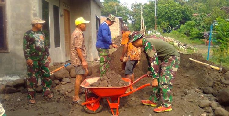 Kodim 0735 Surakarta Gelar pra-TMMD di Jati Rejo Mojosongo
