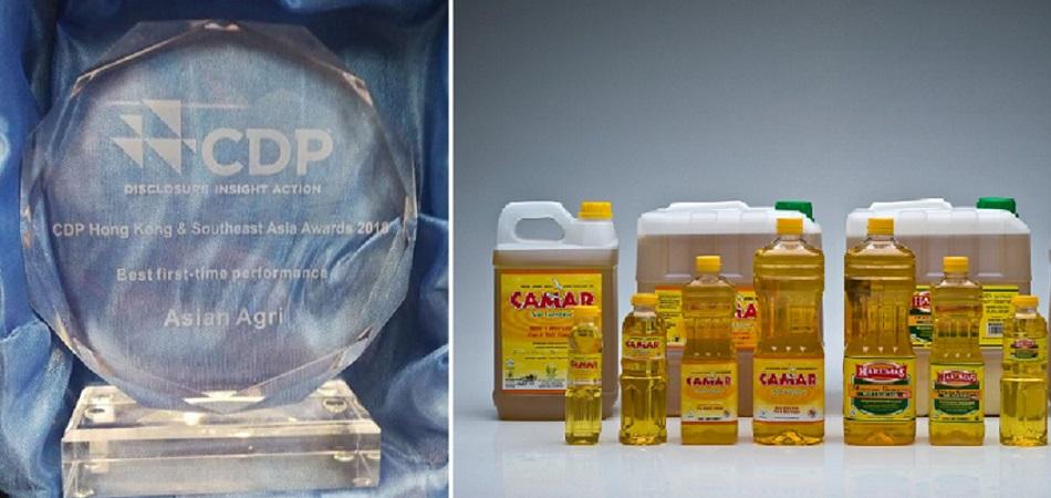 Asian Agri Raih Penghargaan CDP sebagai Best First Time Performance
