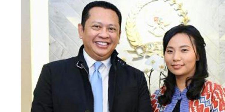 Ketua DPR Terima Sineas Livi Zheng