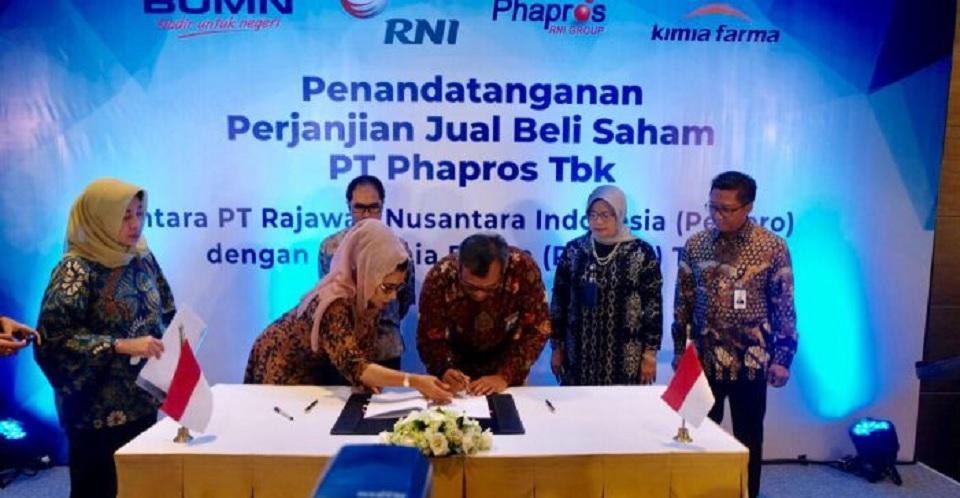 Kimia Farma Rogoh Rp 1,36 T untuk Akuisisi Phapros