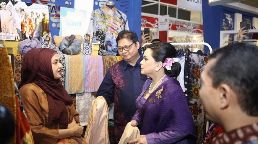 RI Targetkan Ekpor Batik Tembus $ 58,6 Juta