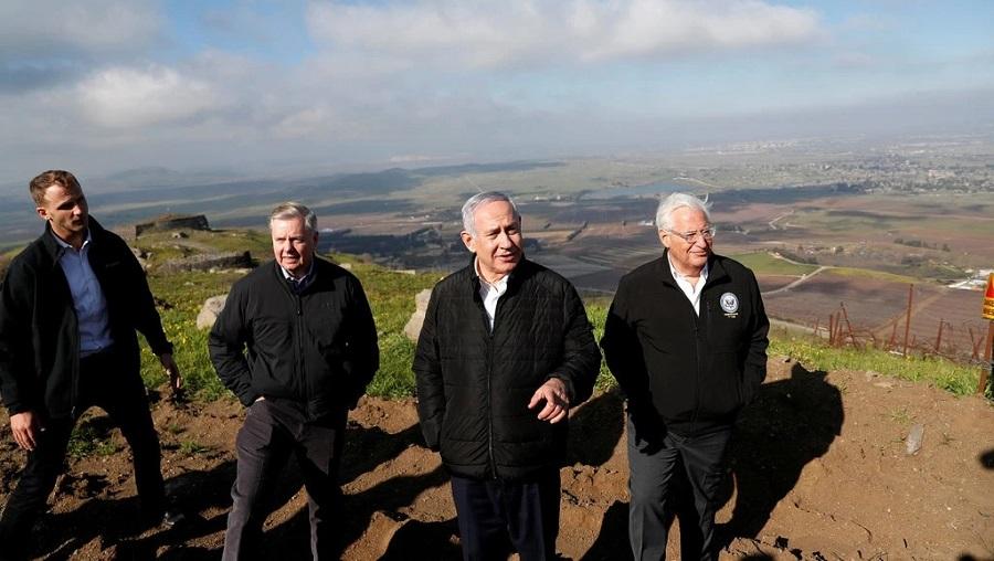 Dunia Kecam Trumplomasi atas Golan