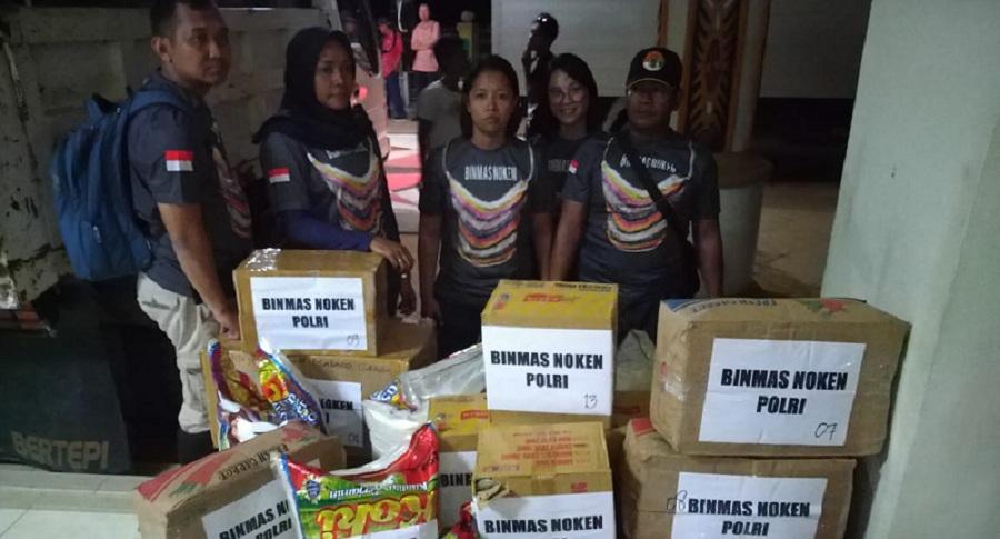 Binmas Noken Peduli Korban Banjir