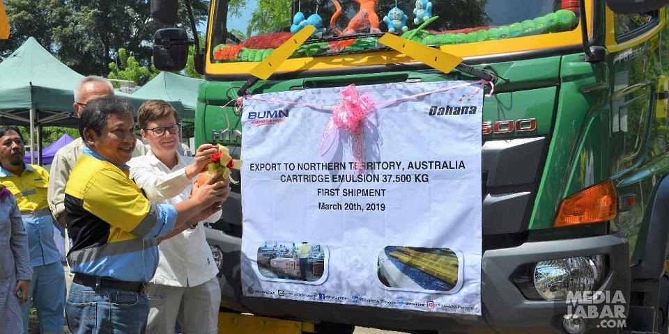 Dahana Ekspor 8 Kontainer Bahan Peledak ke Australia