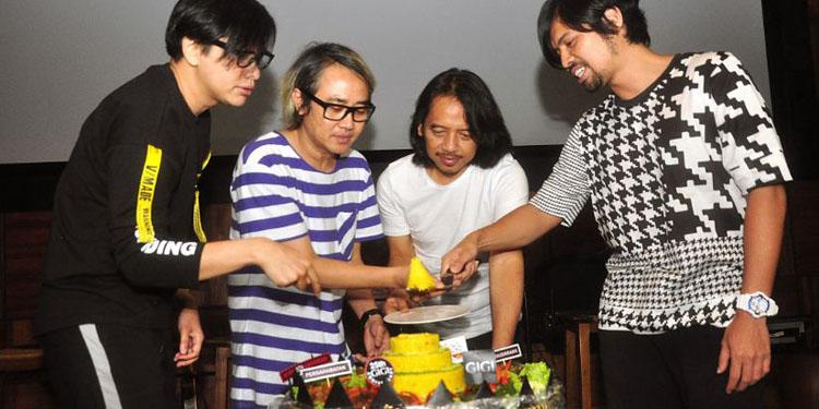 GIGI Siap Gelar Konser 25 Tahun Berkarya di Jogjakarta
