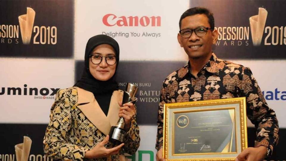 Bupati Lebak Raih Penghargaan Best Regional Leaders
