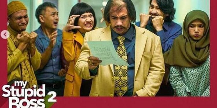 Aksi Acak-acakan Reza Rahadian di 'My Stupid Boss2'