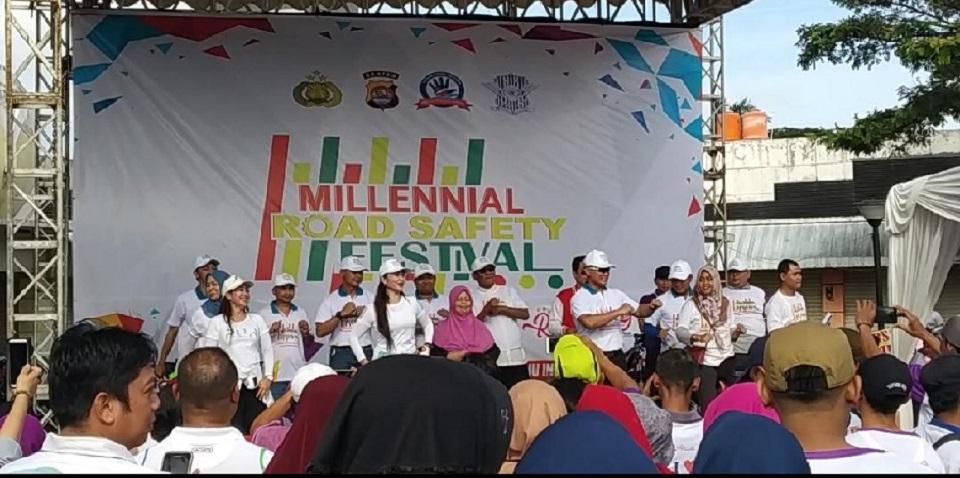 Kapolresta Tangerang Siap Buat Rekor MURI Goyang Anti Hoaks