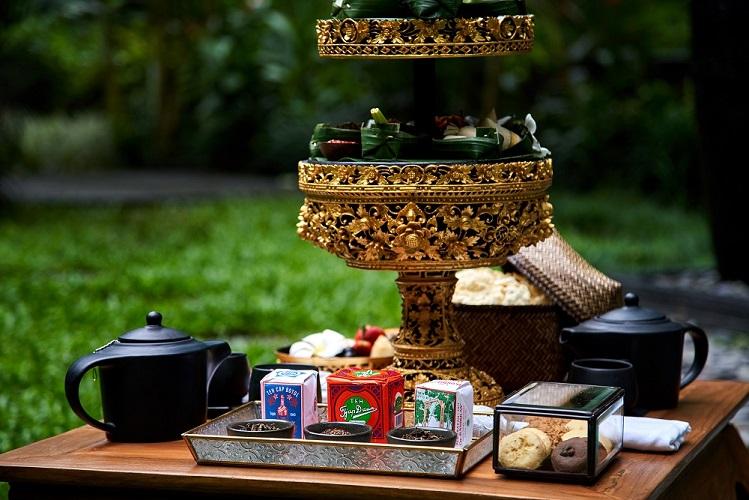 Menikmati Waktu 'Ngeteh' Sore di Samsara Ubud
