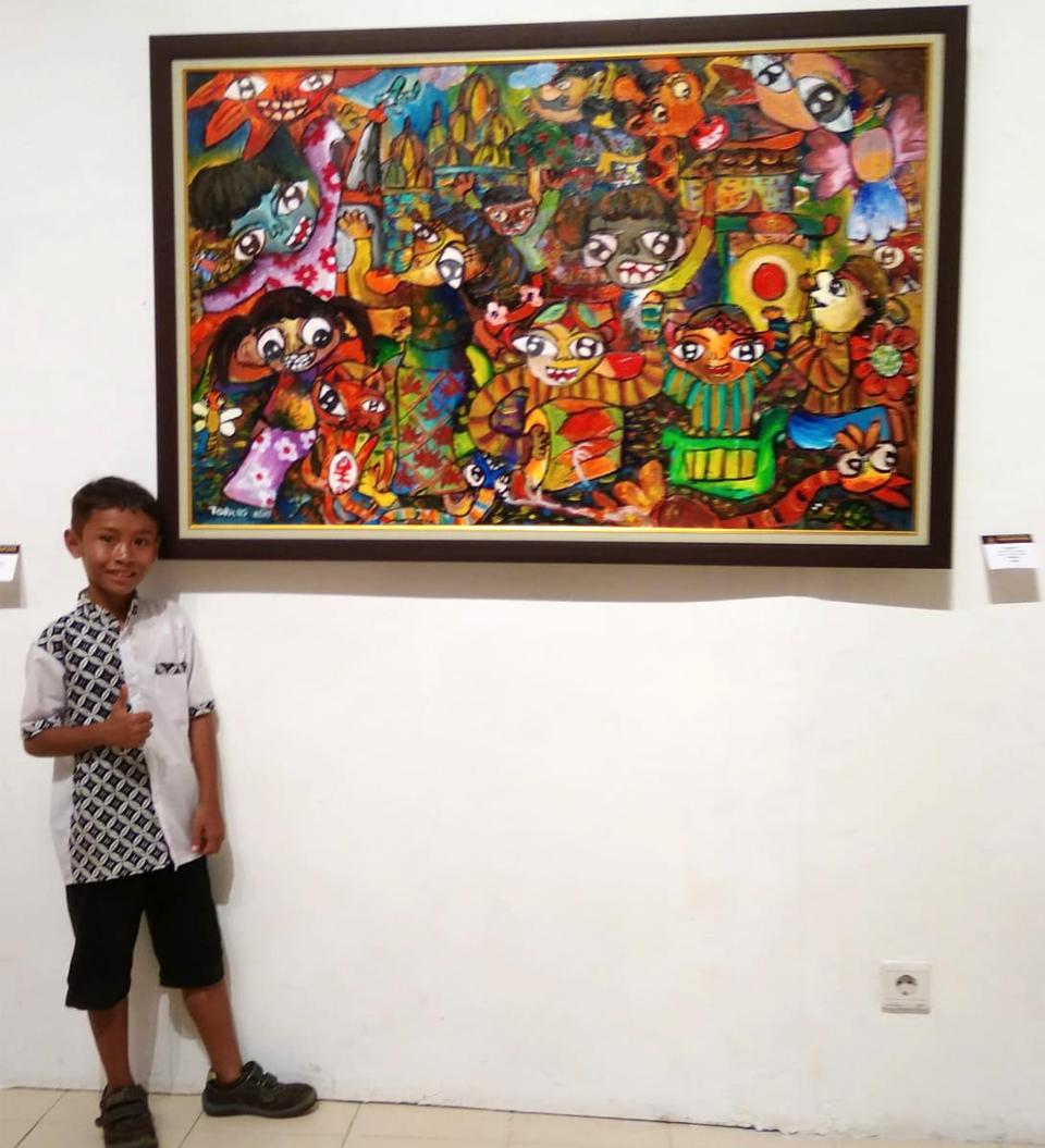 Torres Si Pelukis Cilik Dengan Prestasi Besar Jayakarta News