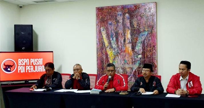 Ada Naga Merah dan Naga Hijau di Gedung DPP PDI Perjuangan