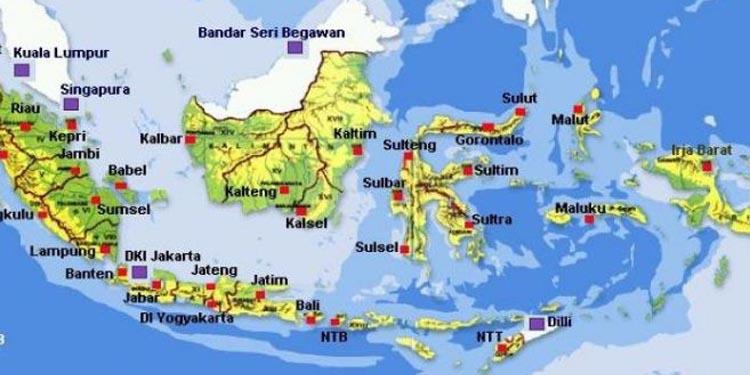 Calon Ibukota RI: Antara Sumatera, Sulawesi dan Kalimantan, Pilih yang Mana?