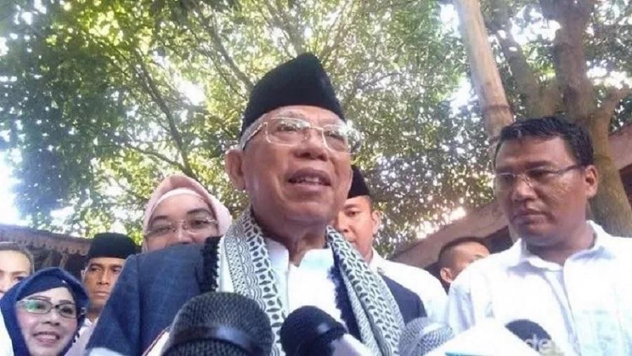 KH Ma'ruf Anggap Target Prabowo Unggul 25% Berlebihan