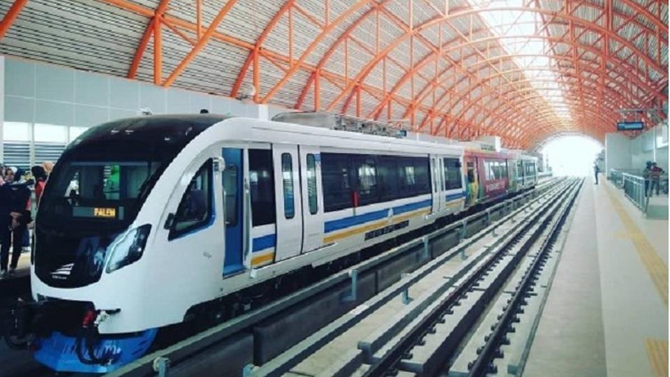 LRT Palembang Kuras Keuangan Negara